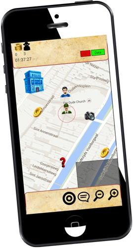 GPS games op mobiel