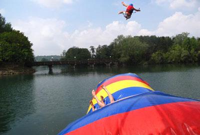 Blob jump BRES