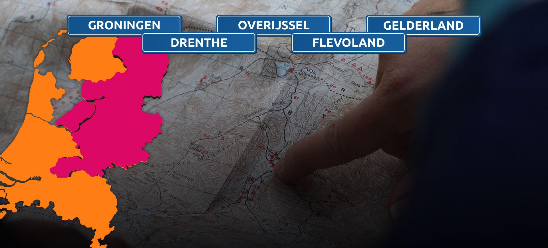bres groningen drenthe overijssel flevoland gelderland
