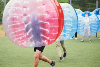 Bubbelvoetbal Bres